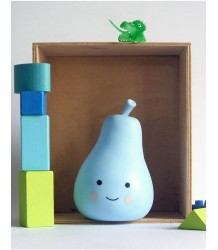 A Little Lovely Company Mini Pear Light A Little Lovely Company Mini Peerlampje soft blue