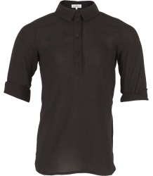 Rion Half Placket Shirt Little Remix Rion Half Placket Shirt black