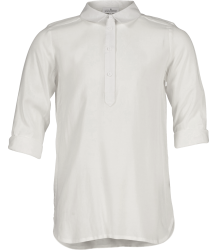 Rion Half Placket Shirt Little Remix Rion Half Placket Shirt white