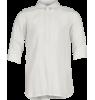 Rion Half Placket Shirt Little Remix Rion Half Placket Shirt white