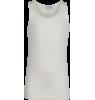 Blos - Rayon Jersey Tank Top Little Remix Blos - Rayon Jersey Tank Top white