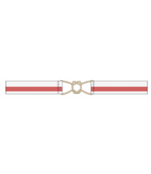 The Animals Observatory Belt - White And Red The Animals Observatory Belt - White And Red