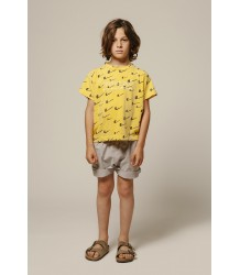 The Animals Observatory Rooster - Mononcle Yellow Tshirt The Animals Observatory Rooster - Mononcle Yellow Tshirt