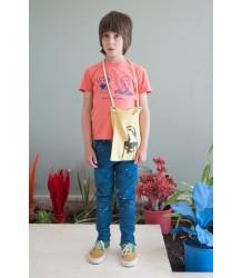 Bobo Choses Short Sleeve T-shirt VINCENT ET PABLO Bobo Choses T-shirt korte mouw VINCENT ET PABLO