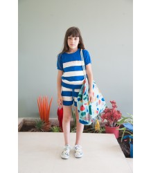 Bobo Choses Knitted Tee CECI N'EST PAS Bobo Choses Gebreide Tee CECI N'EST PAS Blue
