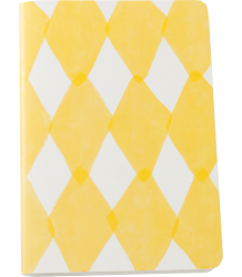 Bobo Choses Notebook DIAMONDS Bobo Choses Schrift DIAMONDS yellow