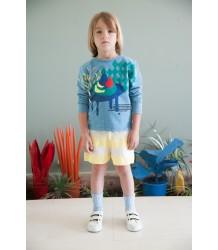 Bobo Choses Knitted Shorts STRIPES Bobo Choses Gebreide Short STREPEN geel