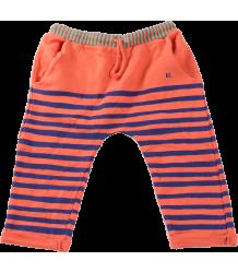 Bobo Choses Fleece Trousers STRIPES Bobo Choses Sweat Broek Blauwe Strepen