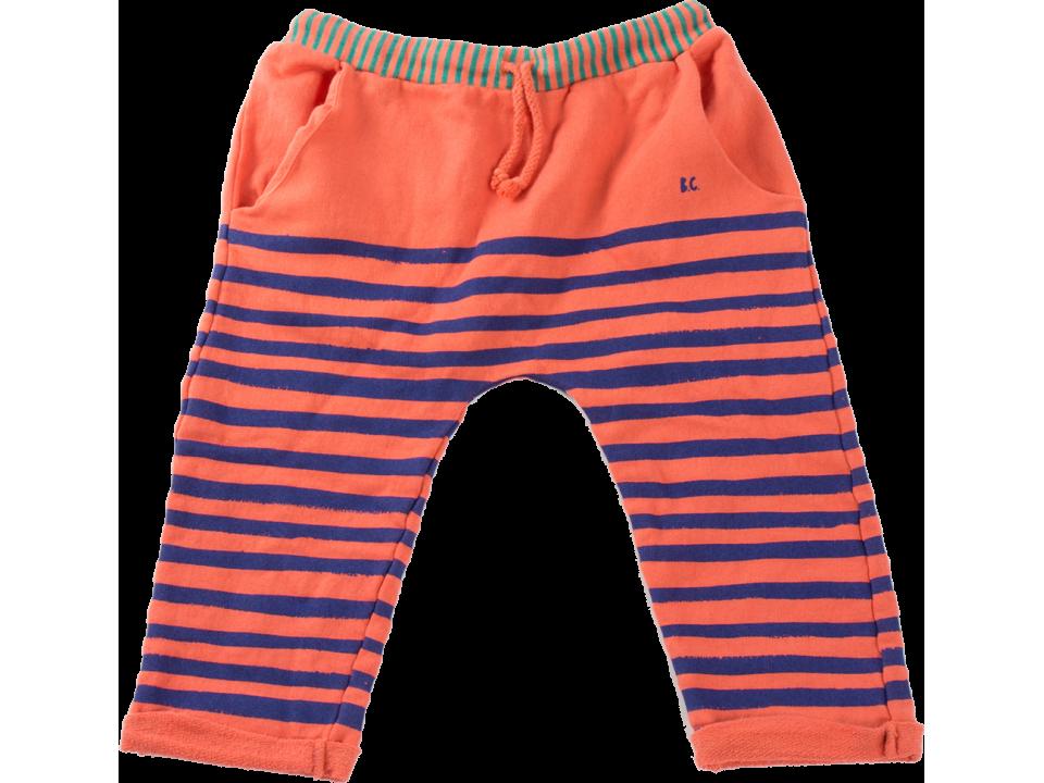 Sale - Striped Sweat Harem Trousers - Bobo Choses Bobo Choses vqkTlQXml