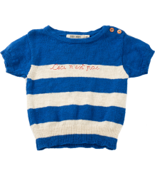 Bobo Choses Knitted Tee CECI N'EST PAS Bobo Choses Knitted Tee CECI N'EST PAS