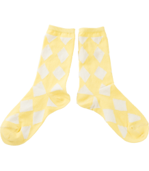 Bobo Choses Korte Sokken DIAMONDS Bobo Choses Korte socks DIAMONDS yellow