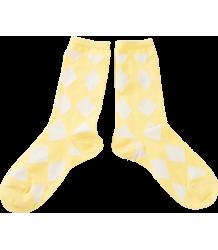 Bobo Choses Short Socks DIAMONDS Bobo Choses Korte socks DIAMONDS yellow