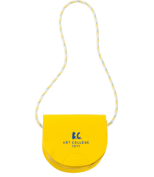 Bobo Choses Saddle Leather Bag Bobo Choses Leather saddle bag yellow