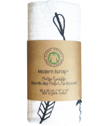 Muslin Swaddle ARROWS Modern Burlap Muslin Swaddle ARROWS