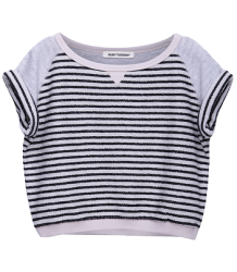 Mathilde- Sweat Stripe SS Miss Ruby Tuesday Mathilde - Sweat Streep Korte Mouw