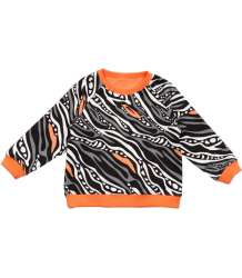 Filemon Kid Reversible Sweatshirt Tapir Filemon Kid Reversible Sweatshirt PATTERN
