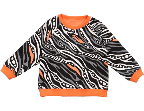 Filemon Kid Reversible Sweatshirt Tapir