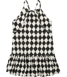 Soft Gallery Rosy Dress JOKER Soft Gallery Rosy Dress JOKER black and white