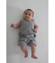 Gray Label Baby Summersuit Gray Label Baby Summersuit grey melange