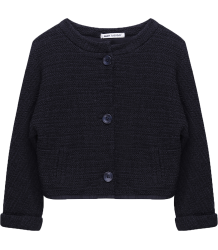 Ruby Tuesday Kids Pernilla - Short Jacket Miss Ruby Tuesday Pernilla - Short Jacket blue graphite