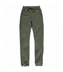 Finger in the Nose Longbeach Woven Denim Jogg Pants Finger in the Nose Longbeach Woven Denim Jogg Pants dark olive