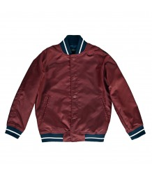 Finger in the Nose Pretender Varsity Jacket Finger in the Nose Pretender Varsity Jacket dark plum
