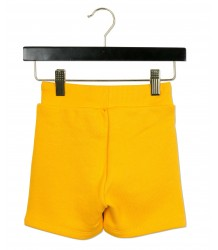 Mini Rodini KAT Sweatshort Mini Rodini CAT Sweat Short yellow