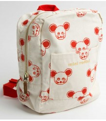 Mini Rodini Backpack MOUSE aop Mini Rodini Backpack muis