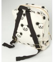 Mini Rodini Backpack MUIS aop Mini Rodini Backpack MOUSE aop black