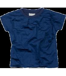 Ine de Haes Fo T-shirt CRACKLE Ine de Haes Fo T-shirt CRACKLE indigo