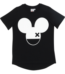 Beau LOves Fin T-shirt MOUSE WITH X Beau LOves Fin T-shirt MOUSE WITH X black