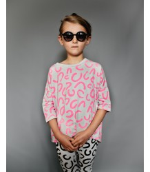 Beau LOves Oversized Top Frill Back MODERN LEOPARD Beau LOves Oversized Top Frill Back MODERN LEOPARD