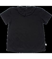 Repose AMS T-shirt met Kraag Repose AMS T-shirt met Kraag zwart