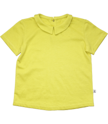 Repose AMS T-shirt with Collar Repose AMS T-shirt met Kraag canary yellow