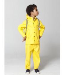 Gosoaky Elephant Man Rain Jacket Gosoaky Elephant Man rain coat yellow