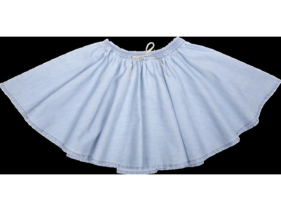 Chambray Skirt Orange Ida Et Emile Mayonnaise On0PNk8Xw