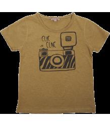 Emile et Ida Tee Shirt, Round Neck, SS CLIC CLAC Emile et Ida Tee Shirt, Round Neck, SS CLIC CLAC
