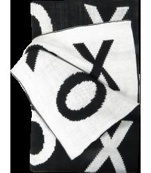 Grote 2-zijdige Deken XO Modern Burlap Large reversible blanket XO