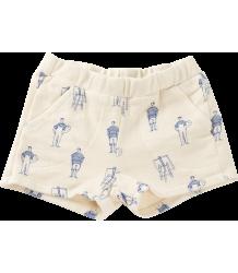 Bobo Choses Fleece Shorts PAINTERS Bobo Choses Sweat Shortje SCHILDERS