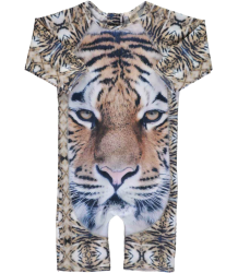 Popupshop Swim One Pieve UV TIGER Popupshop Zwem Jumpsuit UV Tijger