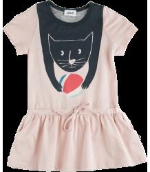 Oeuf NYC Tee Shirt Jurkje KAT Oeuf NYC Tee Shirt Jurkje CAT pink