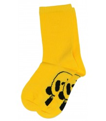 Mini Rodini PANDA Sock Mini Rodini PANDA Sok yellow