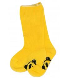 Mini Rodini PANDA Sock Mini Rodini PANDA Sok geel