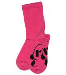 Mini Rodini PANDA Sock Mini Rodini PANDA Sok pink