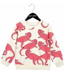 Mini Rodini Sweatshirt T-REX Mini Rodini Sweatshirt T-REX pink