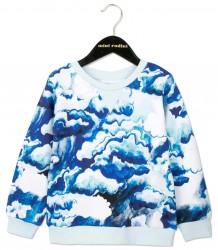 Mini Rodini Sweatshirt CLOUDS Mini Rodini Sweatshirt CLOUDS blue