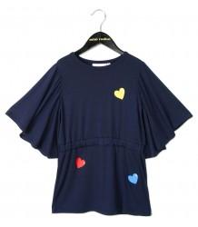 Mini Rodini Kimono Jurkje HEART Mini Rodini Kimono Jurkje HEART