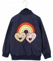 Mini Rodini RAINBOW Jacket Mini Rodini RAINBOW Jacket blue