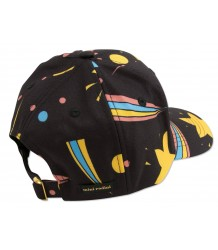 Mini Rodini SPACE Cap Mini Rodini SPACE Cap black