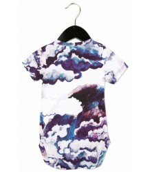 Mini Rodini SS Body CLOUDS Mini Rodini SS Body CLOUDS purple